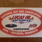 2006 NHRA Contestant Decal Brainerd