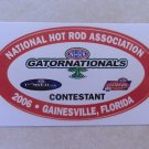 2006 NHRA Contestant Decal Gainesville