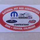 2006 NHRA Contestant Decal Denver