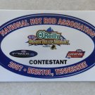 2007 NHRA Contestant Decal Bristol