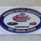 2007 NHRA Contestant Decal Chicago