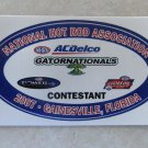 2007 NHRA Contestant Decal Gainesville