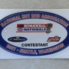 2007 NHRA Contestant Decal Seattle