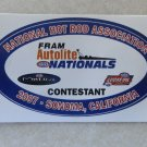 2007 NHRA Contestant Decal Sonoma