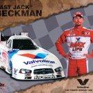 2014 NHRA FC Handout Jack Beckman (Valvoline)