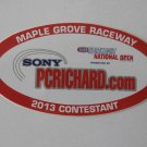 2013 NHRA Contestant Decal Maple Grove National Open