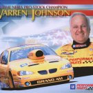 2004 NHRA PS Handout Warren Johnson