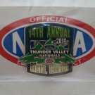2014 NHRA Event Pin Bristol