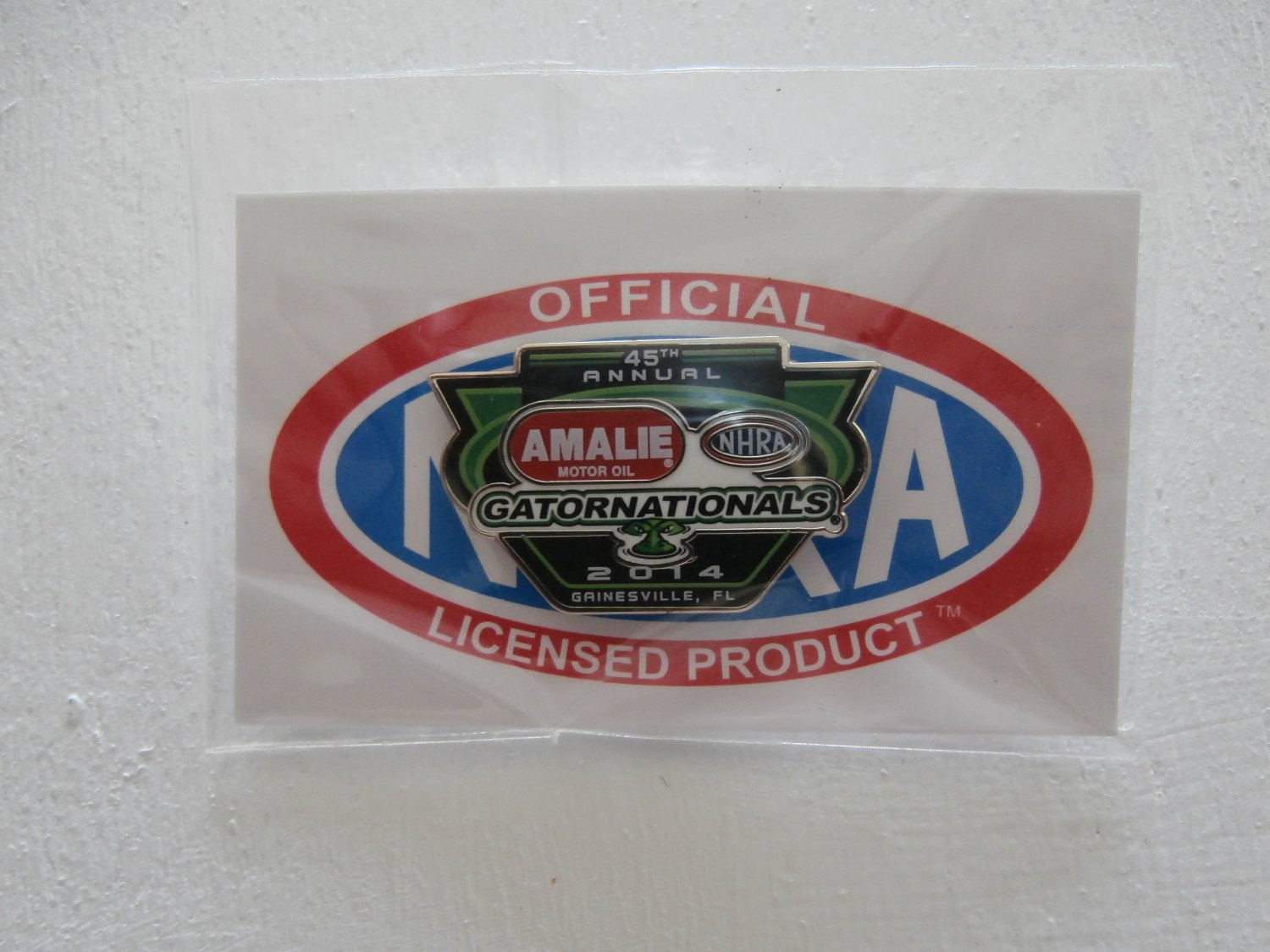 2014 NHRA Event Pin Gainesvile