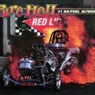 "2014 NHRA Nostalgia AA/FA Handout ""Pure Hell"""