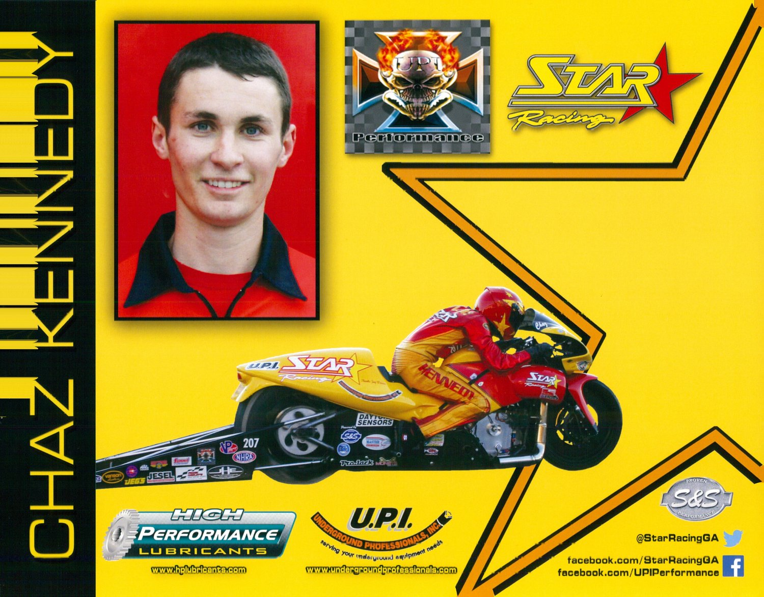 2014 NHRA PSB Handout Chaz Kennedy (version #4)