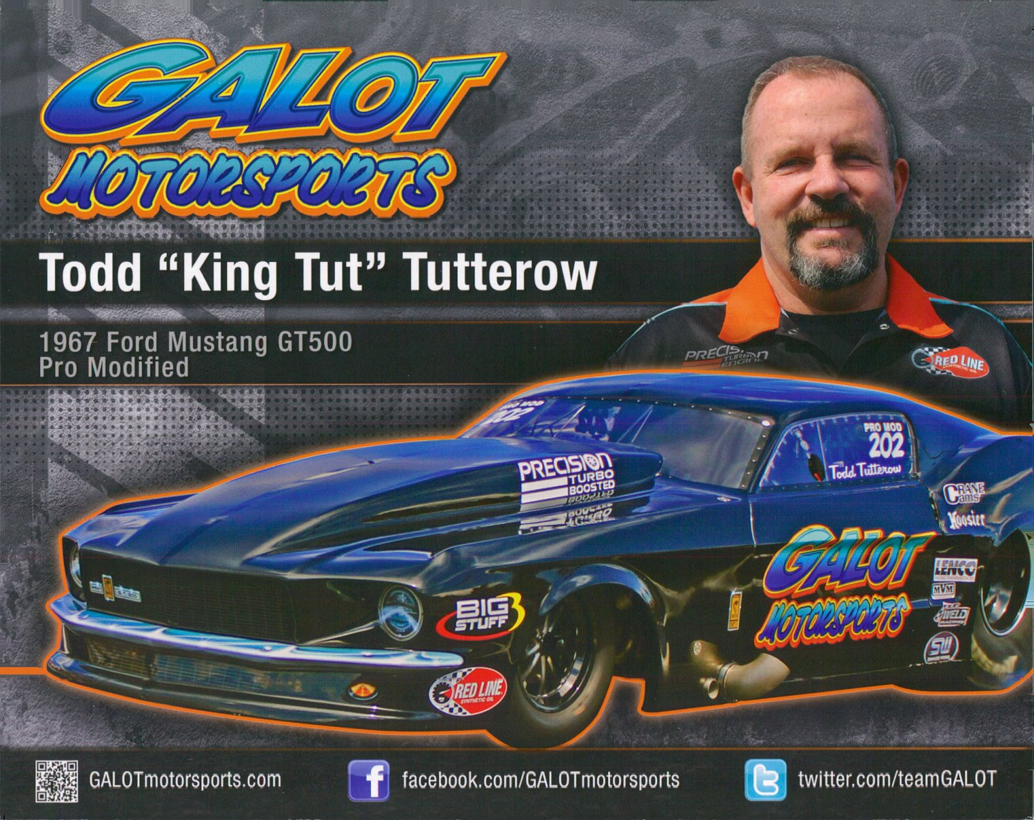 2014 NHRA PM Handout Todd Tutterow
