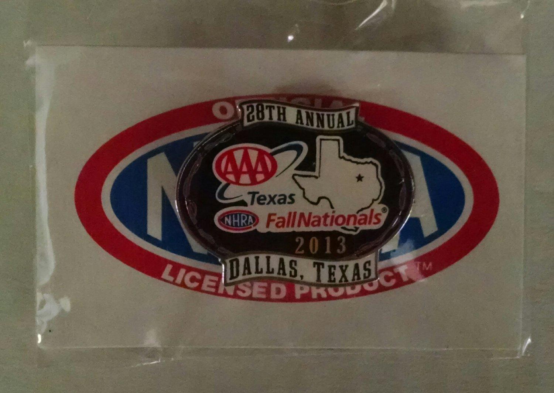 2013 NHRA Event Pin Dallas