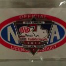 2014 NHRA Event Pin Dallas