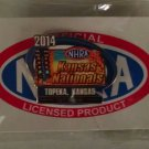 2014 NHRA Event Pin Topeka