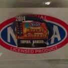 2014 NHRA Event Pin Topeka