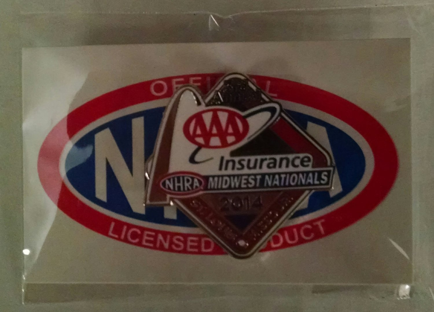 2014 NHRA Event Pin St. Louis