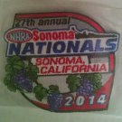 2014 NHRA Event Patch Sonoma