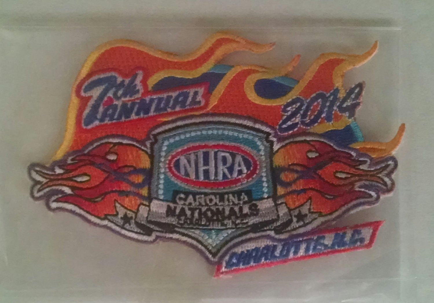 2014 NHRA Event Patch Charlotte Fall Race