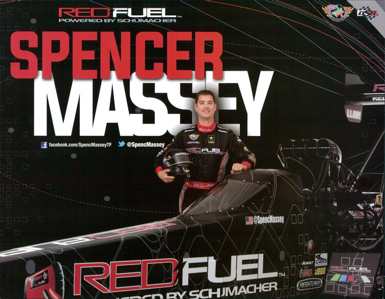 2015 NHRA TF Handout Spencer Massey
