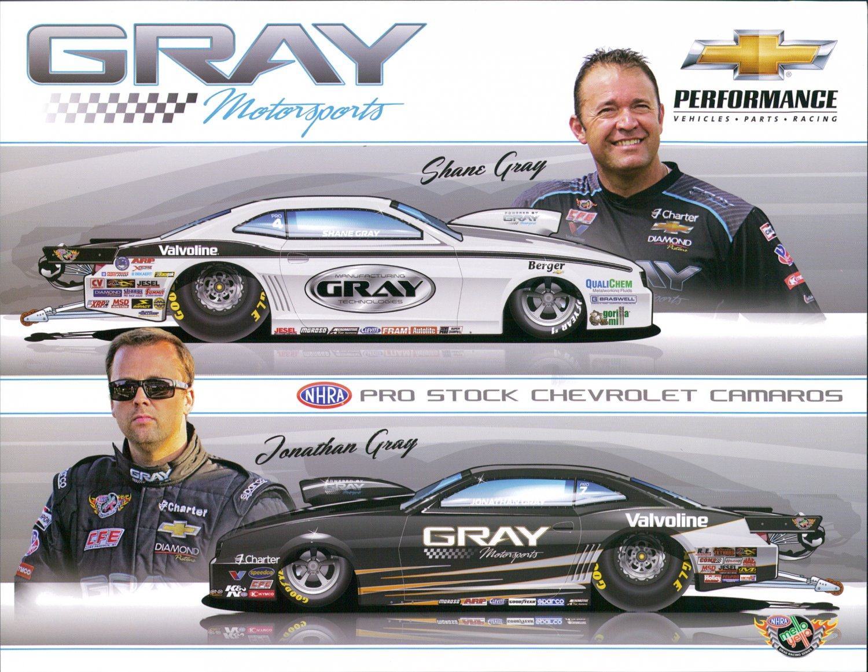 2015 NHRA PS Handout Gray Racing Team