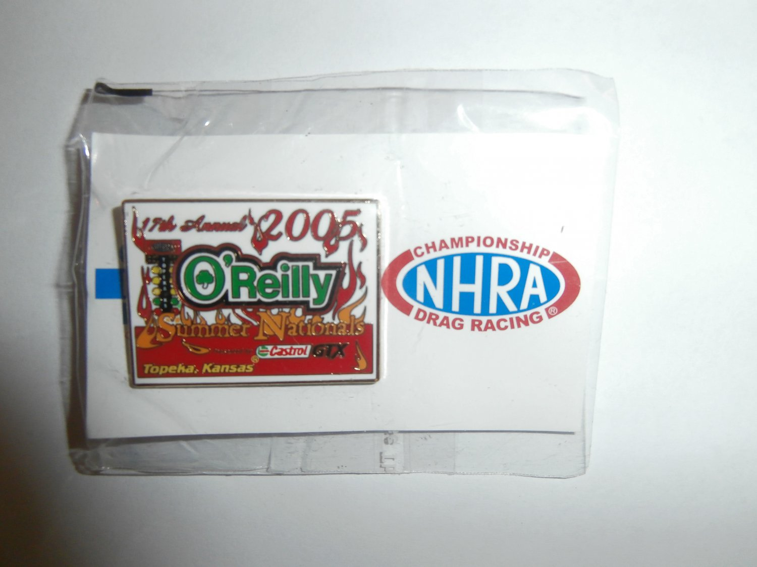 2005 NHRA Event Pin Topeka