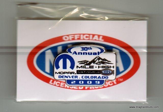 2009 NHRA Event Pin Denver