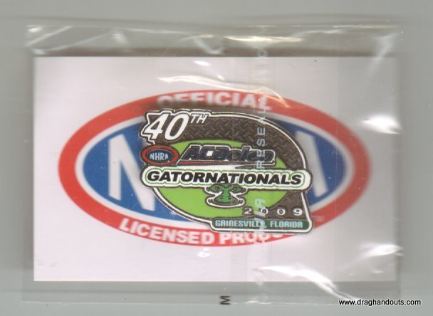 2009 NHRA Event Pin Gainesville