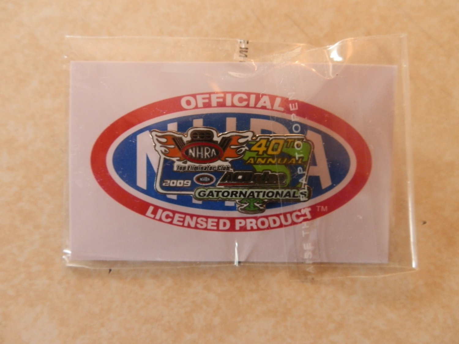 2009 NHRA Event Pin Gainesville TEC