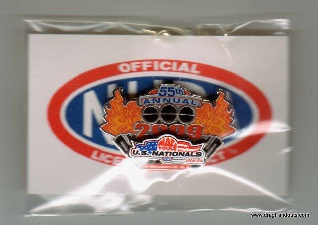 2009 NHRA Event Pin Indy #2