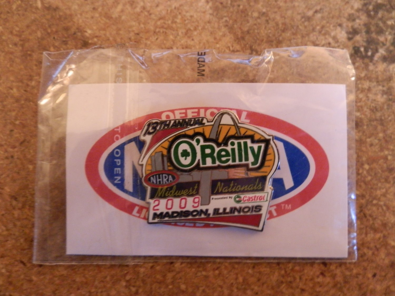 2009 NHRA Event Pin St. Louis