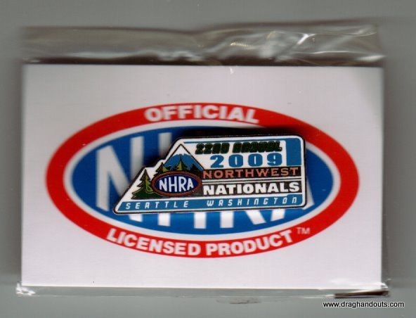 2009 NHRA Event Pin Seattle