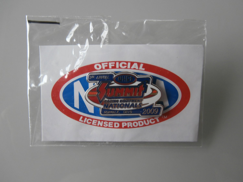 2009 NHRA Event Pin Norwalk