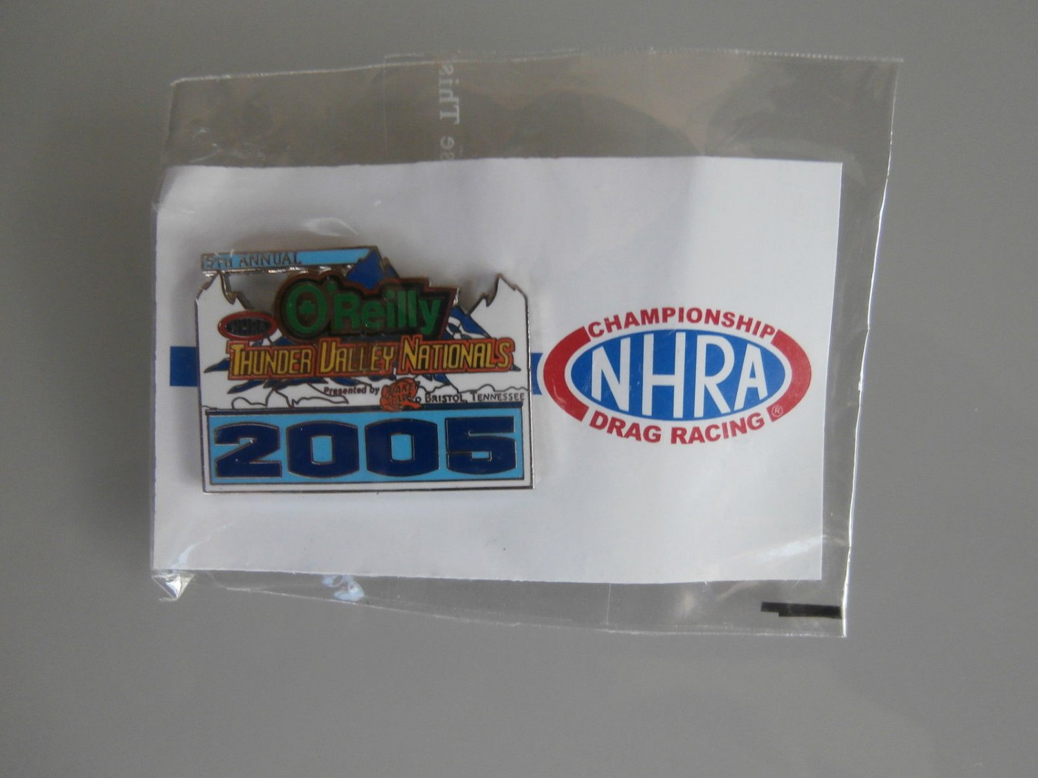 2005 NHRA Event Pin Bristol