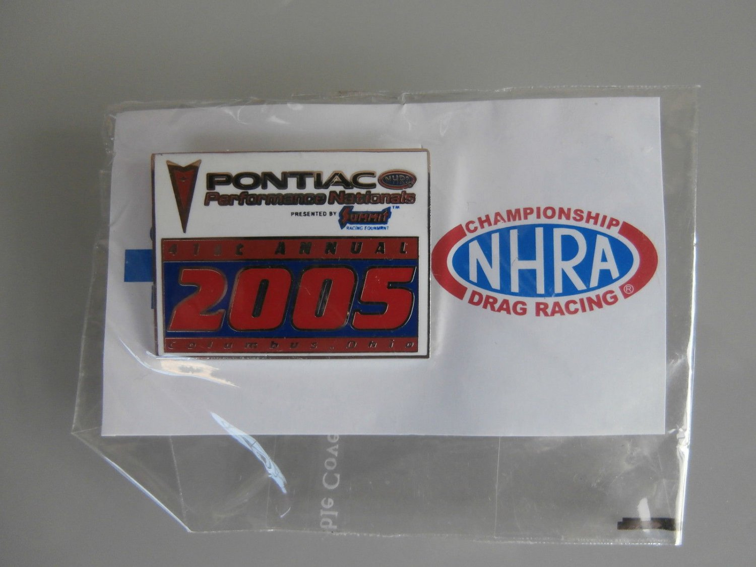 2005 NHRA Event Pin Columbus