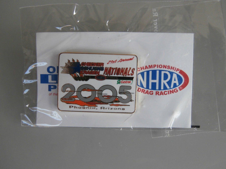 2005 NHRA Event Pin Phoenix