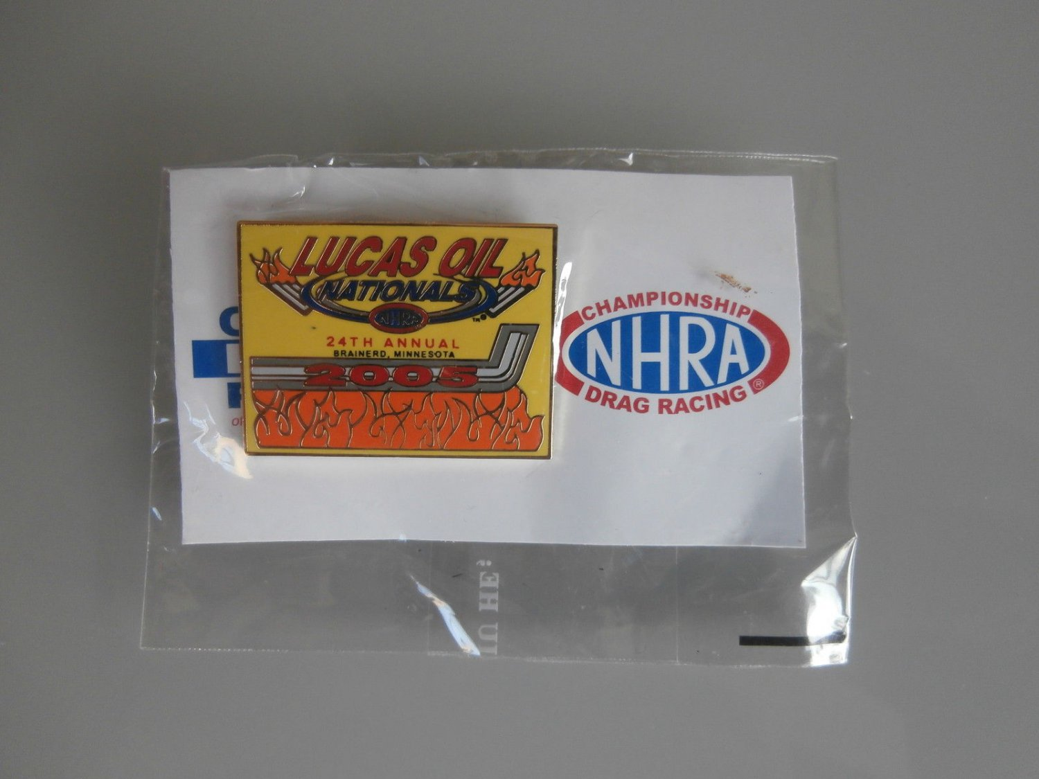 2005 NHRA Event Pin Brainerd