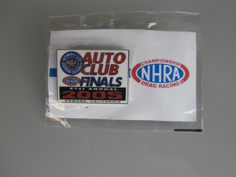 2005 NHRA Event Pin Pomona Finals