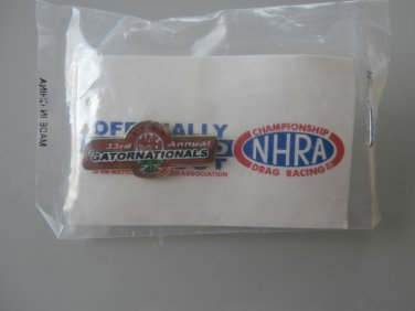 2002 NHRA Event Pin Gainesville