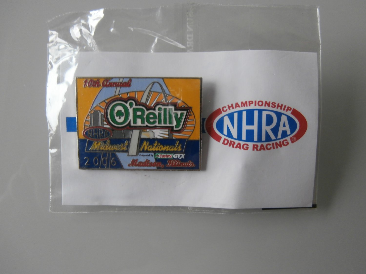 2006 NHRA Event Pin St. Louis