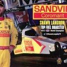 2016 NHRA PS Handout TF Shawn Langdon (Sandvik)
