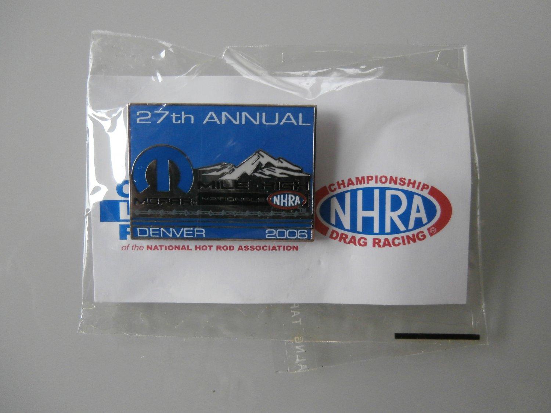 2006 NHRA Event Pin Denver
