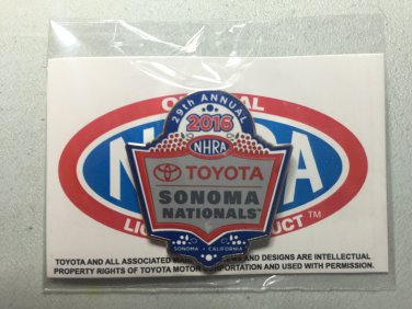 2016 NHRA Event Pin Sonoma