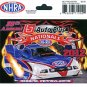 2012 NHRA Event Decal Reading