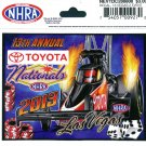 2013 NHRA Event Decal Las Vegas