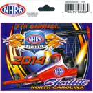 2014 NHRA Event Decal Charlotte