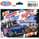 2014 NHRA Event Decal St. Louis