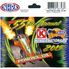 2015 NHRA Event Decal Pomona Winternationals