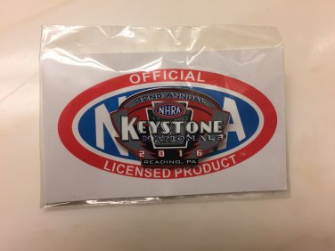 2016 NHRA Event Pin Reading