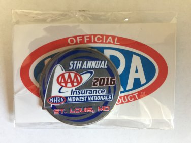 2016 NHRA Event Pin St. Louis